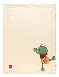 sigikid Blanket Folunder Frog 41560