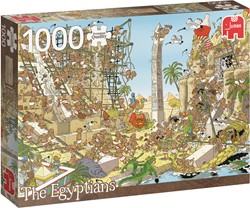 Jumbo  Pcs of History The Egyptians - 1000 stukjes