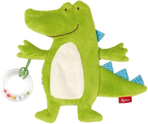 sigikid Activiteiten knuffeldoekje krokodil, PlayQ