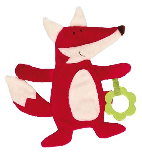sigikid Activiteiten knuffeldoekje vos, PlayQ