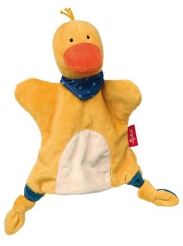 sigikid Handpop-knuffeldoekje eend, Soft & Play