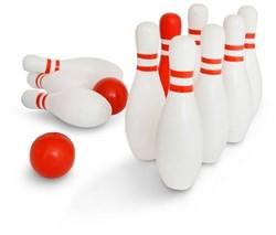 Buitenspeel  buitenspel Rood & wit bowling