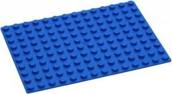 Hubelino  knikkerbaan accessoires Blauwe grondplaat 140 noppen