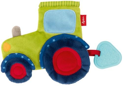 sigikid Activiteiten knuffeldoekje tractor, PlayQ