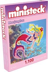 Ministeck - knutselspullen - Zeemeermin 1100 stukjes