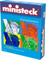 Ministeck knutselspullen Vrijheidsbeeld 10400 stukjes