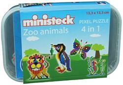 Ministeck Dierentuin dieren 4-in-1 - 510 stukjes