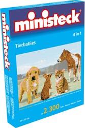 Ministeck Dierenbaby's 4-in-1 - 2300 stukjes