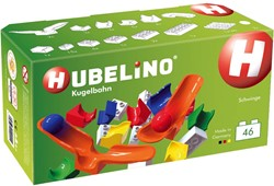 Hubelino knikkerbaan accessoires schommel 46 delig
