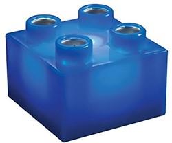 Light Stax  constructie speelgoed blauw 2x2 6 stuks