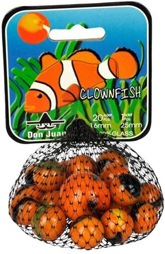 Don Juan  buitenspeelgoed Knikkers Clownfish 16 mm