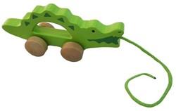Hape houten trekfiguur Krokodil