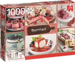 Jumbo Berries + 6 recipes - 1000 stukjes