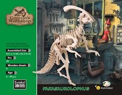 Gepetto's workshop houten knutselspullen Parasaurolophus