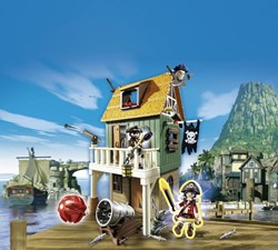 Playmobil  Super 4 Geheim piratenvesting met Ruby 4796