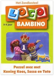 Loco  Bambino educatief spel Puzzel mee met koning Koos, Sassa en toto