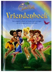 Deltas Disney Fairies Vriendenboek Tinkerbell