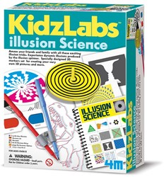 4M KidzLabs SCIENCE: ILLUSION SCIENCE