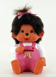 MONCHHICHI 20 cm Spaarpot Meisje Roze