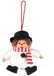 Monchhichi  kleinspeelgoed Kerst Decoratie hangend 10cm