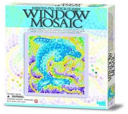 4M  Creatief knutselen venstermozaiek Natuur