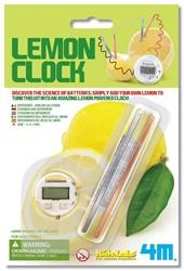4M  Kidz Labz wetenschap speelgoed Lemon Clock 5+