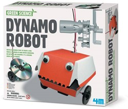 4M  Green Science wetenschapsdoos Dynamo robot