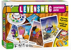 Hasbro  bordspel Levensweg