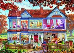 Gibsons puzzel Autumn Home - 1000 stukjes