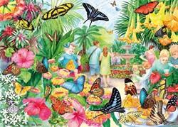 Gibsons puzzel Butterfly House - 1000 stukjes