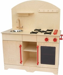 Van Dijk Toys houten keukentje Kleuters XL