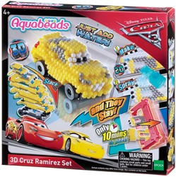 Aquabeads Cars 3D Cruz Ramirez speelset