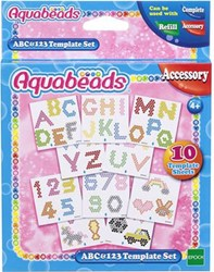Aquabeads ABC&123 patroonvellenset