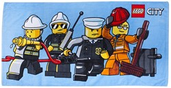 Lego  City Badlaken: 70x140 cm