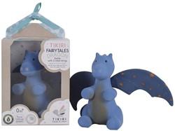 Tikiri Fairytales: DRAAK Midnight met blauwe vleugels 13cm