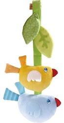 Haba box en maxi cosi speelgoed Hangfiguur Vogelvrienden 5149