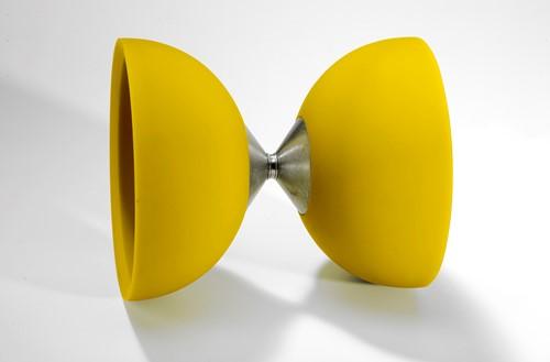 Acrobat - 105 Rubber Diabolo Yellow