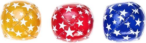 Acrobat 3 Jongleer Ballen Junior (80 g) - Blauw, Rood & Geel