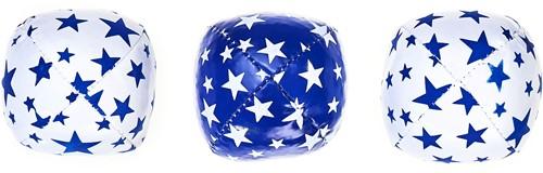 Acrobat - Set 3 Juggling Balls Junior (80 g) white & blue