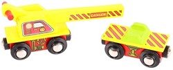 BigJigs Crane Wagon (4)