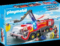 Playmobil City Action - Luchthavenbrandweer met licht en geluid  5337