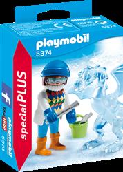 Playmobil  Special Plus Artiste met ijsscultuur 5374