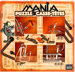 Planet Happy puzzelspel Puzzle Mania Casse-têtes Orange