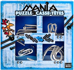 Planet Happy puzzelspel Puzzle Mania Casse-têtes Blue