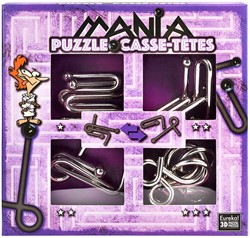 Planet Happy puzzelspel Puzzle Mania Casse-têtes Purple