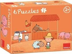 Goula Carla's Boerderij 6 puzzels