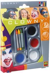 Ses  Clowny verkleedkleren Clowny Schmink Set 1