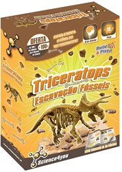 Science4you  wetenschapsdoos Triceratops fossiele