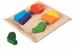 Plan Toys  houten vormenpuzzel Figuren puzzel
