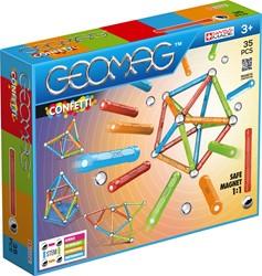 Geomag Confetti 35 delig